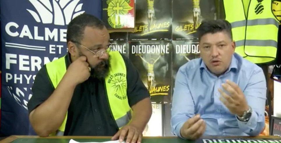 L'expert crypto Dieudonné et l'humoriste Karim Benabdelkader / Copie d'écran vidéo Youtube