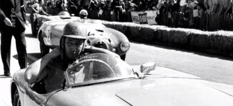 André Guelfi, one of the two drivers who represented Morocco in the race. / Ph. Arte