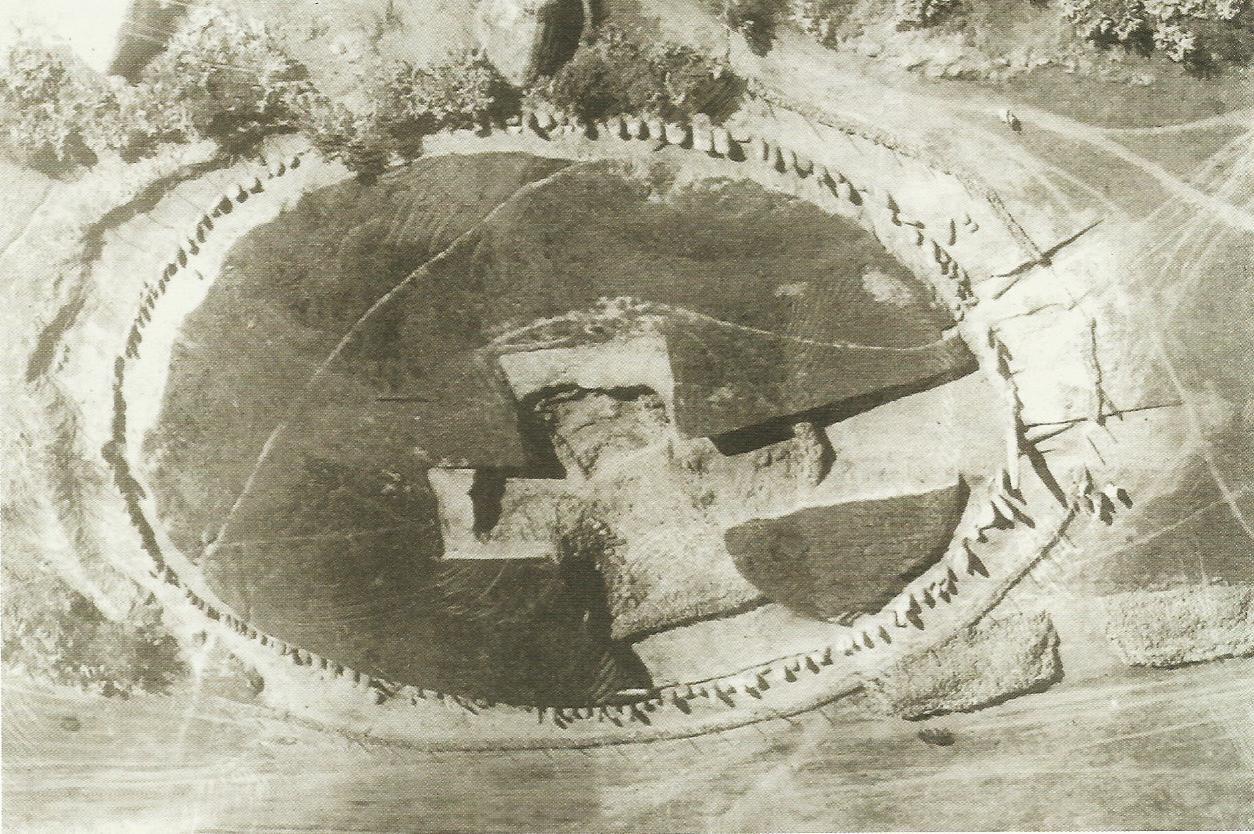 Vue aérienne du Cromlech de Mzora. / Ph. DR