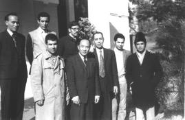 La délégation marocaine au complet, en vue du rapatriement des ex-soldats au Maroc. / Ph. Mokhtar Ouldammar