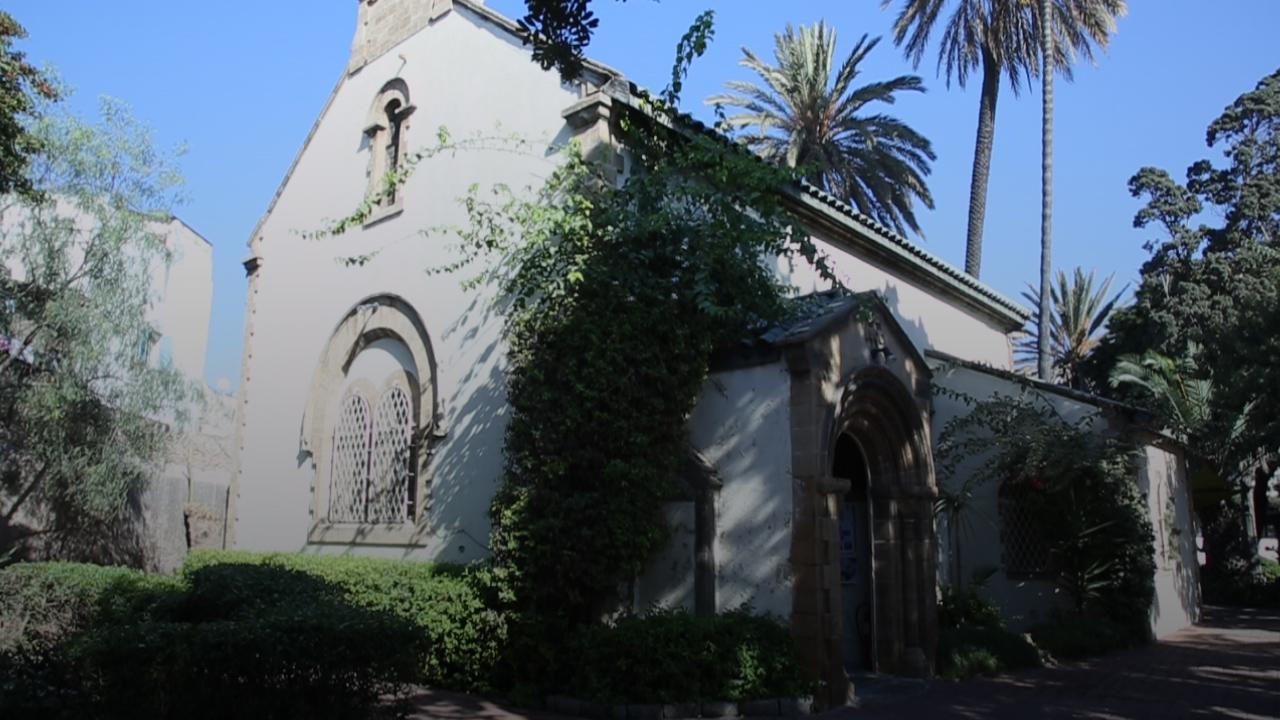 L'église de Saint John, se situe dans l'une des rues les plus animées de Casablanca. / Ph. Mehdi Moussahim - Yabiladi