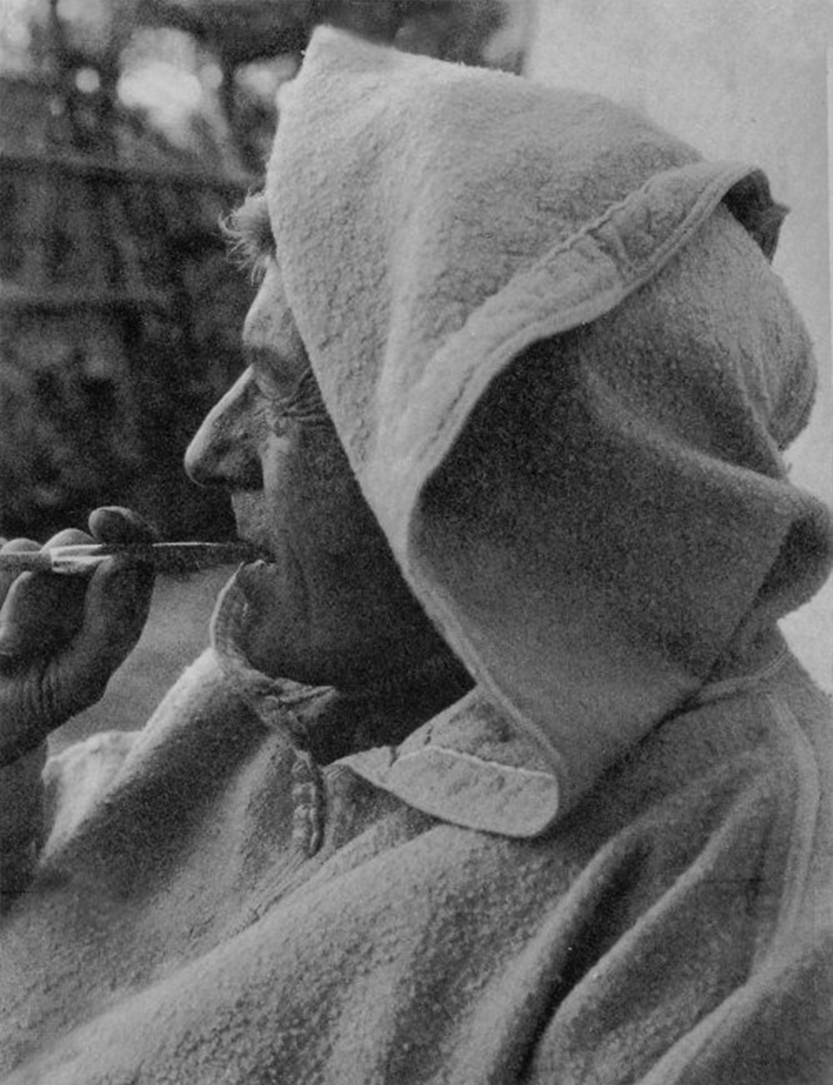 Paul Bowles à Tanger / Ph. DR.