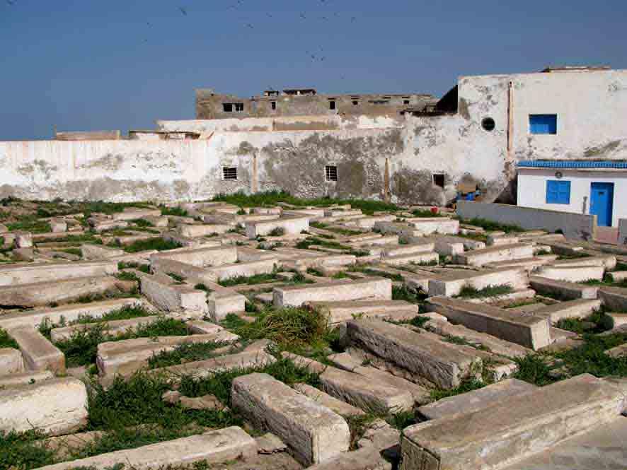 Un cimetière juif à Essaouira. / Ph. DR