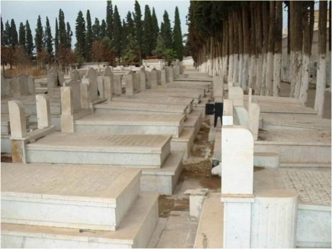 Le cimetière juif à Meknès. / Ph. DR