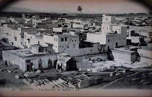 Vue du quartier Mellah à Meknès. / Ph. DR