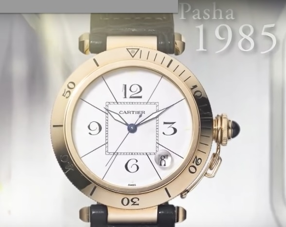 The Pasha Watch created in the 1980s. / Ph. DR
