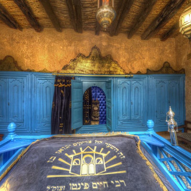 La synagogue de Rabbi Haïm Pinto à Essaouira. / DR