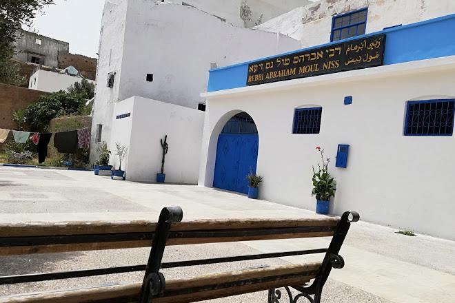 Le mausolée de Rabbi Braham Moul Nesse. / Ph. DR
