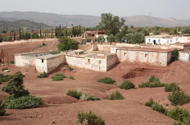 Le sanctuaire où se trouvent la tombe et la synagogue de Rabbi Haïm Ben Diwan à Ouirgane. / Ph. Diarna