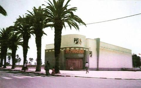 Le cinéma Marhaba à El Jadida, remplacé depuis 2001 par un centre commercial. / DR