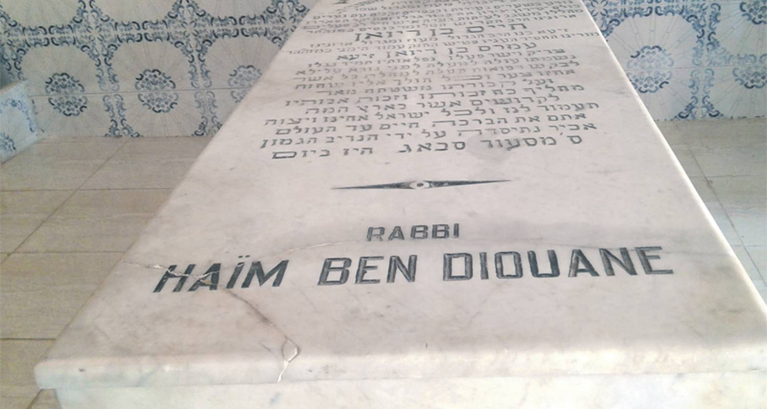 La tombe de Rabbi Haïm Ben Diwan. / Ph. Diarna