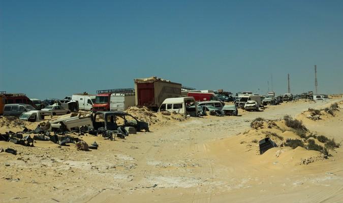 Kandahar avant l'opération d'assainissement des FAR en 2016. / DR