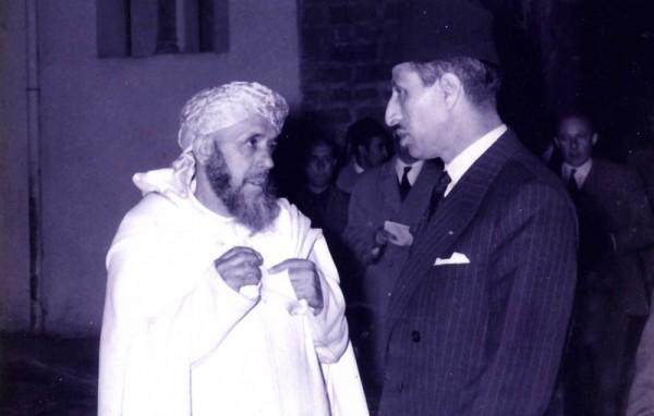 Avec Lahcen Youssi. / Ph. DR