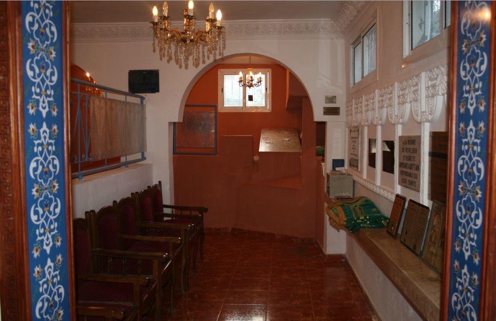L'intérieur du sanctuaire. / Ph. DR