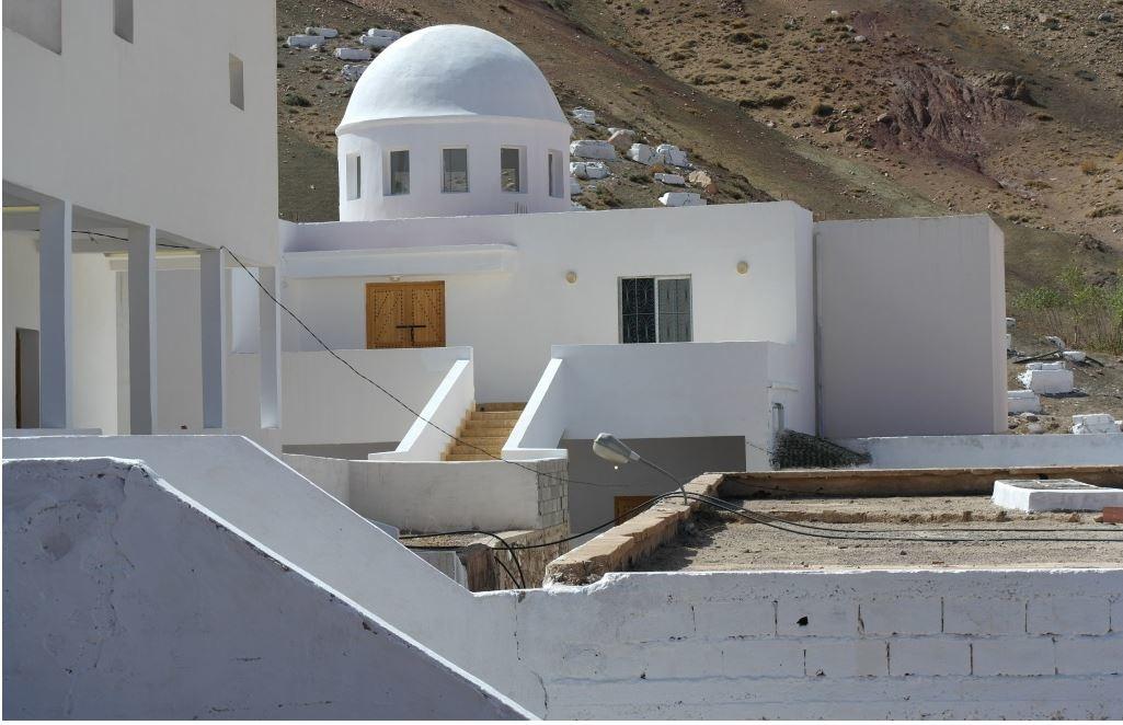 Le sanctuaire de Rabbi David Ou Moshé. / Ph. DR
