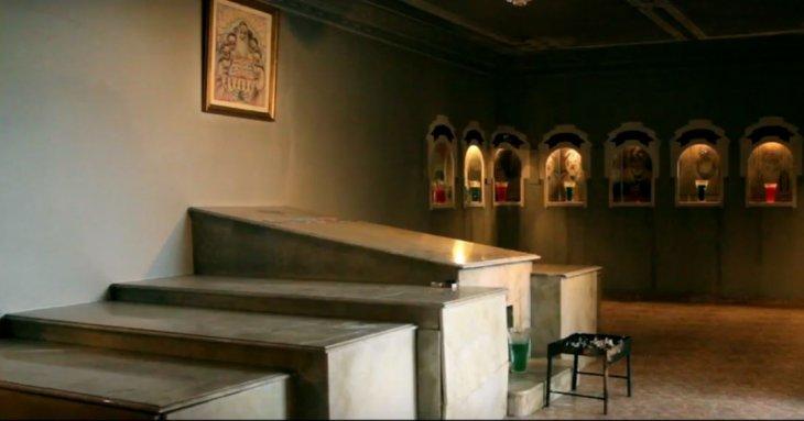 Le sanctuaire à Safi. / Ph. DR