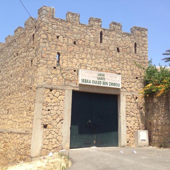 Le mausolée est situé à l'extérieur des remparts portugais de Safi. / Ph. DR