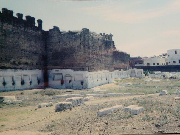 L'ancien cimetière israélite de Meknès avant sa restauration. / Ph. DR
