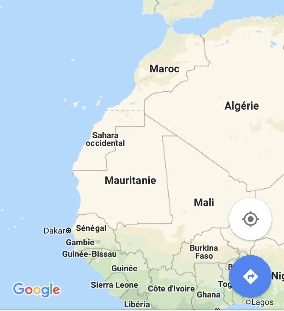 Carte Du Maroc.Desintox Maroc Sahara Occidental Et Google Maps