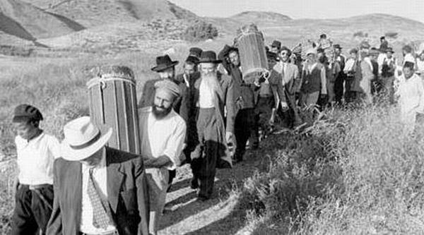 Photo illustrant l'immigration des juifs vers Israël. / Ph. DR