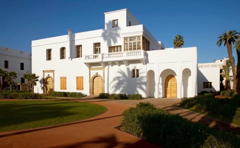 Réhabilitation de la Maison de l'union dans l'ancienne médina de Casablanca. / Ph. Twitter Karim Rouissi