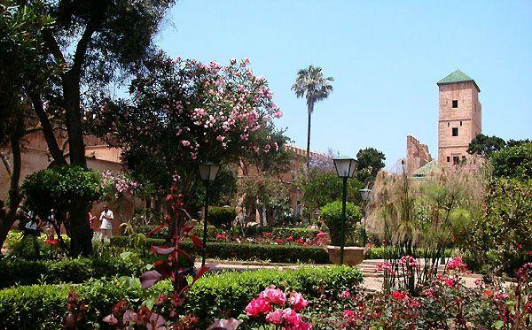 Jardin Andalous des Oudayas./Ph.DR