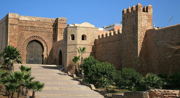 Bab El Kebire de la Kasbah des Oudayas./Ph.DR