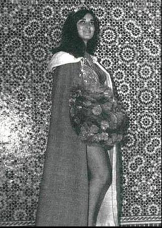 Naima Benjelloun, Miss Maroc de 1967. / Ph. DR