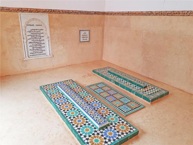 Tombe d'Ibn Abbâd près de celle de son épouse